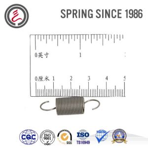 Steel Zinc Plated Electrical Spring Extension Spring with Hooks Manufacturer pictures & photos