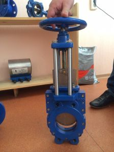 Ductile Iron Knife Gate Valve pictures & photos