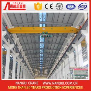 Workshop Use Electric Hoist Single Girder Overhead Bridge Crane