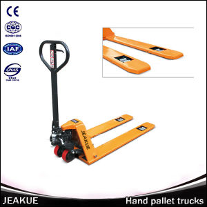 1000kg Mini High Hydraulic Lift Manual Pallet Truck pictures & photos