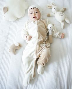 Nature Organic Baby Romper with Gots Ocs100 Certification Fashion Designer pictures & photos