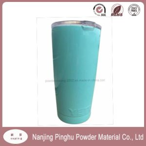 Low Gloss Light Blue Thermosetting Powder Coating Paint pictures & photos