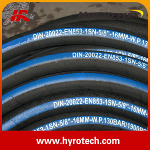 Hydraulic Hose DIN En 857 2sc pictures & photos