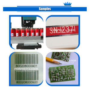 30W CO2 Laser Marking Machine for Bar Code Expiry Date on Non Metal pictures & photos