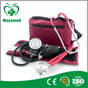 My-G018 Aneroid Sphygmomanometer with Sprague Pappaport Stethoscope pictures & photos