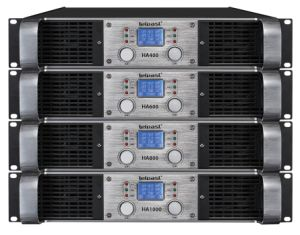 2017 2u 2X1000W Professional Power Amplifier with LED Ha Series pictures & photos