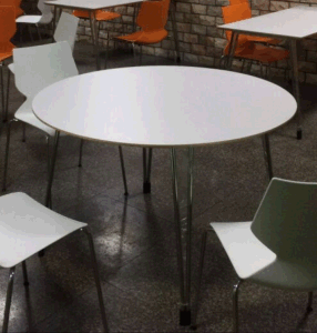 Hot Sale Wood Round Dining Room Table pictures & photos