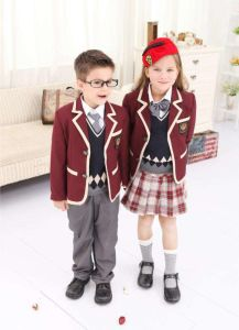 School Uniform for Primary School Students pictures & photos