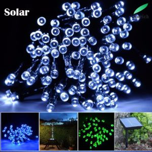 Outdoor Decoration Solar Powered String Light with Different Colors pictures & photos