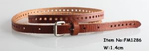 2018 Fashion Genuine Leather Belts for Women (FM1286) pictures & photos