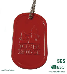 Custom Design Aluminum Stamped Dog Tag pictures & photos