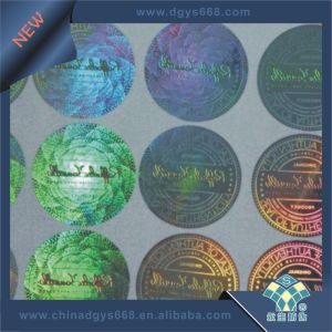 Custom Design High Complicated Laser Sticker pictures & photos
