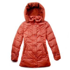 100% 380t Nylon Taffeta for Down Jacket with Crepe Effect pictures & photos