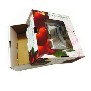 Rsc Paper Cartons with One Color Logo Printing pictures & photos