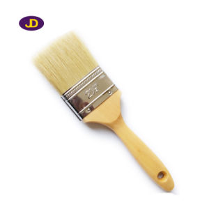Different Color Tapered Polyester Rubber Handle Paint Brush pictures & photos