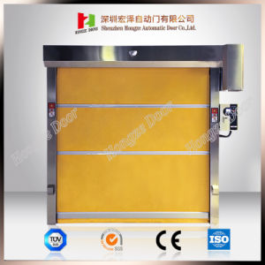 Fast Moving High Speed PVC Roll up Automatic Roller Shutter in Shenzhen pictures & photos