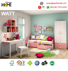 Popular Design Colorful Kids Bedroom Furniture (WATT) pictures & photos