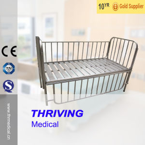 Stainless Steel Hospital Children Bed (THR-CB12) pictures & photos