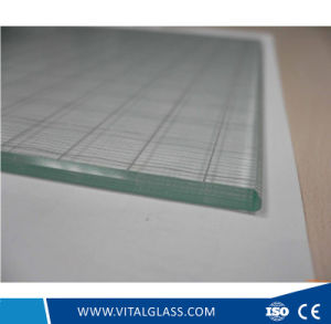 4mm Titanium Coated Decorative Crystal Glass with Ce pictures & photos