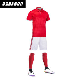 OEM Cheap Plain Goldkeeper Reversible Soccer Jersey pictures & photos