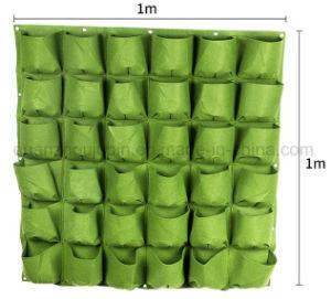 OEM Felt Wall Vertical Greening Planting Flowerpot Pocket Planter pictures & photos