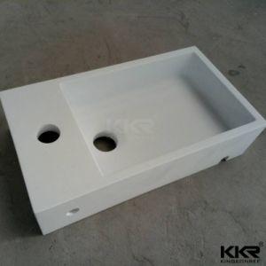 2017 Popular Cabinet Double Bowl Bathroom Vanity Basin pictures & photos