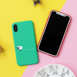 Colorful Cute Cartoon Animal Soft TPU Phone Case for iPhone X pictures & photos