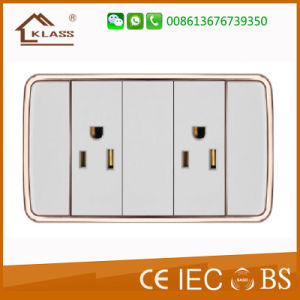 Super Function 1gang 2way Switch +3pin Socket pictures & photos