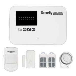 SMS APP and Phone Call Wirelsee GSM Alarm System Panel pictures & photos