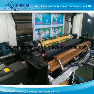 Stack Flexo Printing Machine One Color-10 Colors pictures & photos