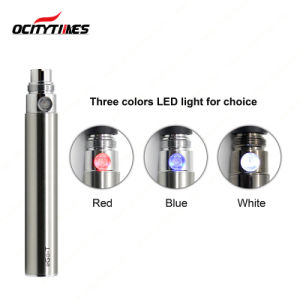 Ocitytimes High Quality 650/900/1100mAh Cbd Oil Cartridge EGO Battery pictures & photos