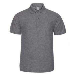 Fitness Wear Muscle Slim Raglan Sleeve Men Polo Shirt pictures & photos