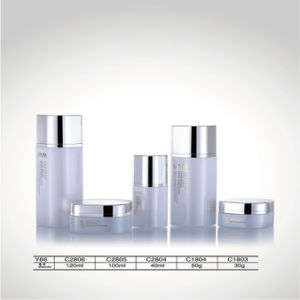 30G Luxury Packaging Empty Facial Cream Cosmetic Glass Jars for Cream pictures & photos