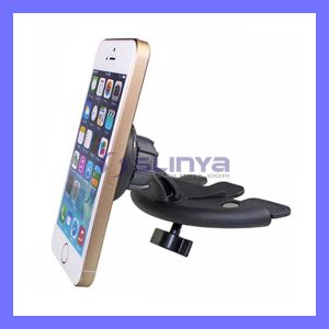 Magnetic CD Mouth Vehicle Phone Holder for iPhone Samsung Sony LG HTC Mobile Phone Car Steering Wheel Phone Stand pictures & photos