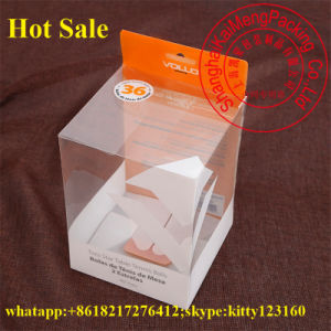 Eco-Frindly Printed Pet Folding Plastic Box in Microwave for Food