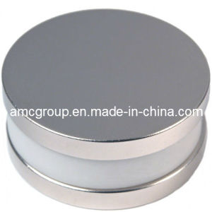 Nm-76 NdFeB Magnet Disc with Hole From China Amc pictures & photos
