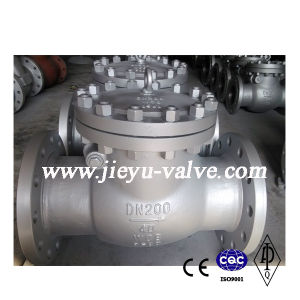 DIN Pn40 Dn200 Carbon Steel Swing Check Valve pictures & photos