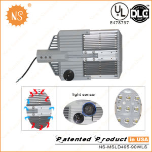 UL Dlc Listed 90W LED Road Light with Sensor pictures & photos