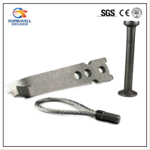 Galvanized Construction Hardware Wire Rope Lifting Loops pictures & photos