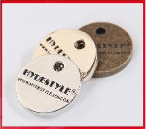 Custom Factory Direct Product Hang Metal Garment Tag pictures & photos