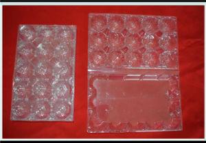 15 Pack Egg Plastic Blister Tray
