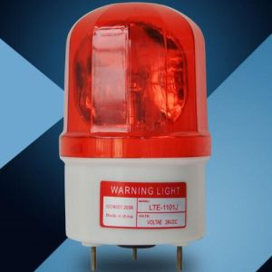 Flashing Warning Rotating Light with Sound 90dB (LTE-1101J) pictures & photos