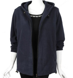 Women Fashion Zipper Polar Fleece Jacket pictures & photos