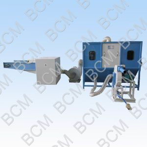 High Quality Fiber and Cut Foam Filling Machine pictures & photos