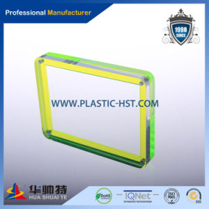 China Alibaba Gold Supplier Customized Acrylic/Shaped Photo Frame pictures & photos
