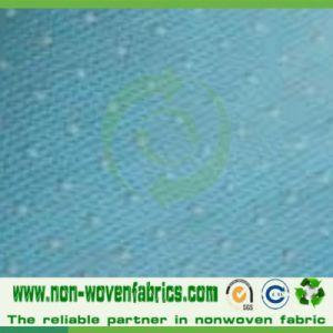 Non-Skid PP+PVC Spunbond Non-Woven Fabric pictures & photos