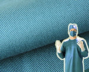 Cotton Twill 240GSM Hospital Medical Surgical Operation Doctor Fabric pictures & photos