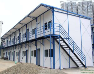 Economic Prefabricated House with Light Steel Frame pictures & photos