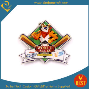 Custom World Series Award Baseball Printed Lapel Pin (KD-2109) pictures & photos