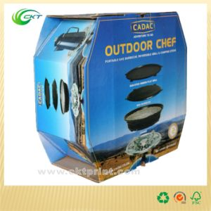 Folding Paper Packaging Box with Glossy Lamination (CKT- CB-310)